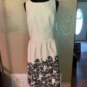 Loft beige dress, size 16